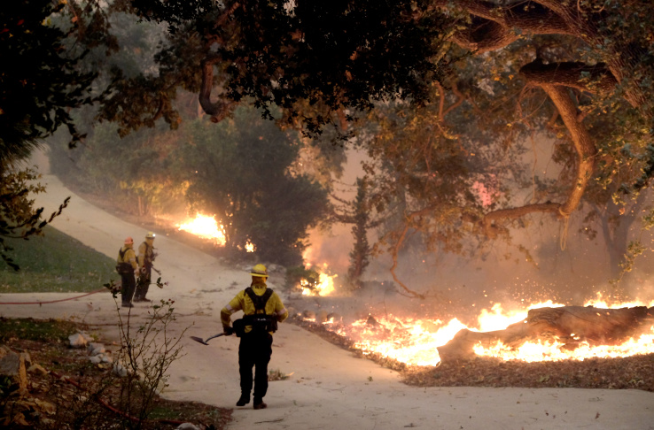 These Images Show How Bad The Socal Fires Are Today Laist