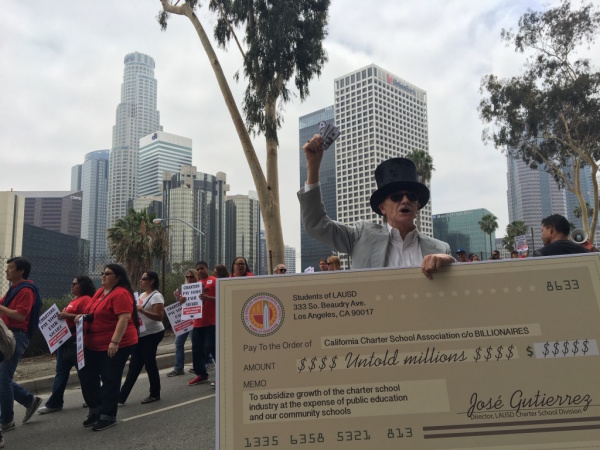 More Than 30,000 LAUSD Teachers Will Decide This Month If They Want To Strike