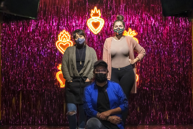 How Noa Noa Place Turned A Boyle Heights Sports Bar Into A Queer Latinx Hub -- In The Middle Of A Pandemic