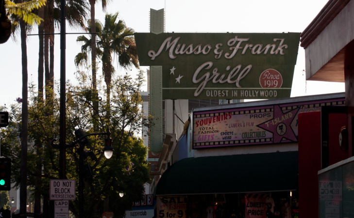 Hollywood's Musso & Frank Grill Turns 99