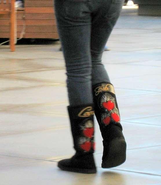 love/hate those stupid boots