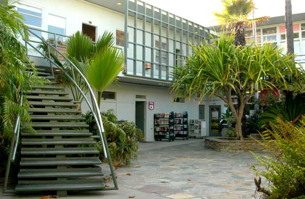 The Divine Courtyard at Dutton's Bookstore