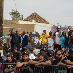 Photos: LA Pays Tribute To Nipsey Hussle On His Final Victory Lap