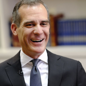 This Unofficial Eric Garcetti 'Urban Latino Beat' Song Means The 2020 Campaign Is Here