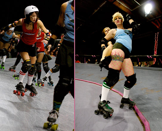 roller derby fight club tough cookies