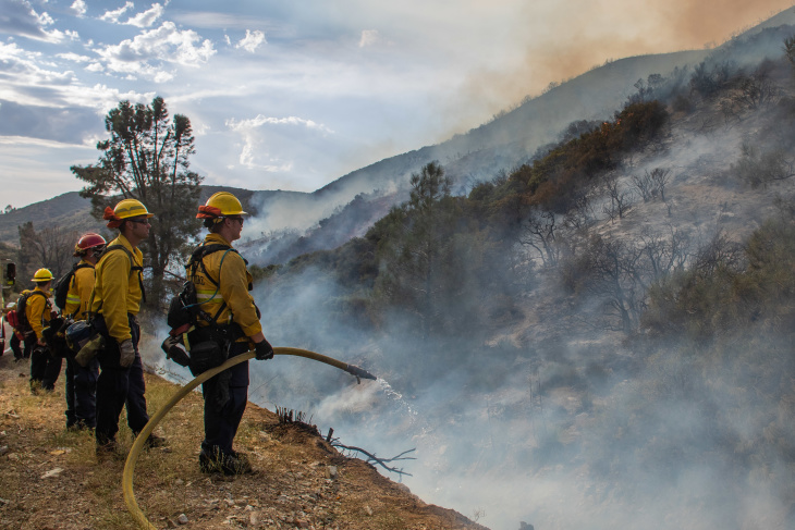 What We Know About The Wildfires Burning In La County