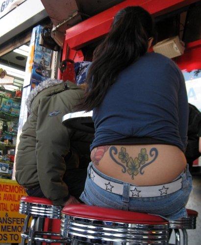 tattooed muffin