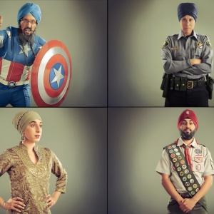 This Portrait Gallery In LA Highlights The Everyday Heroism Of Sikh Americans