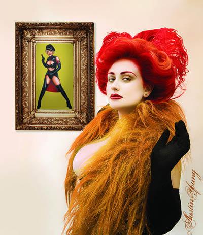 Golden Gals Gone Wild curator, Lenora Claire