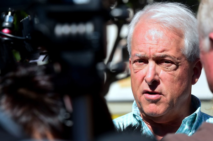 While Making Opponents' Marital Affairs A Campaign Issue, John Cox Stays Mum On His Own