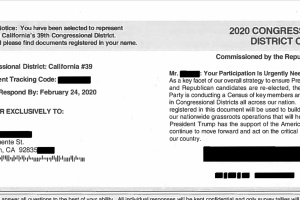 Southern Californians Are Receiving GOP Mailers That Look Like Census Forms