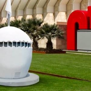 Egg-Shaped Museum Debuts At LACMA Monday