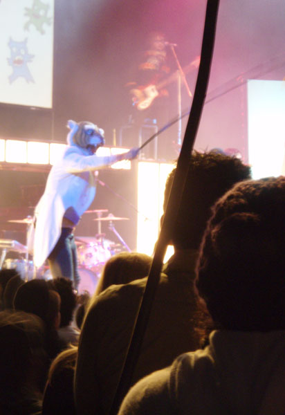 Wildlife at the Of Montreal Concert @ Avalon, 11/8/07