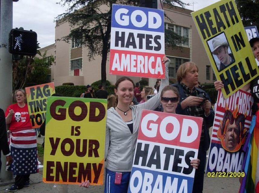 Anti gay church