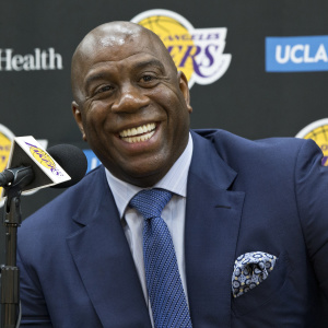 Magic Johnson Is Stepping Down From Lakers Job