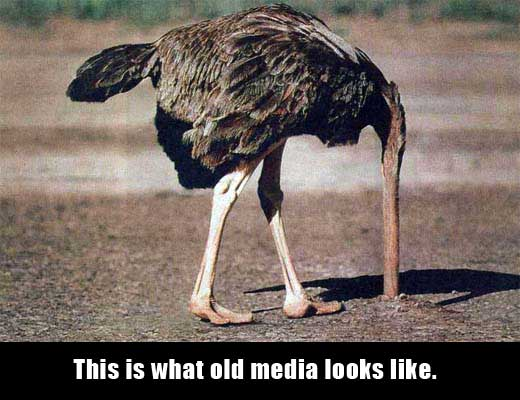 We are the mainstream media