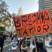 The Scenes From Wednesday's Breonna Taylor Protests In Downtown LA