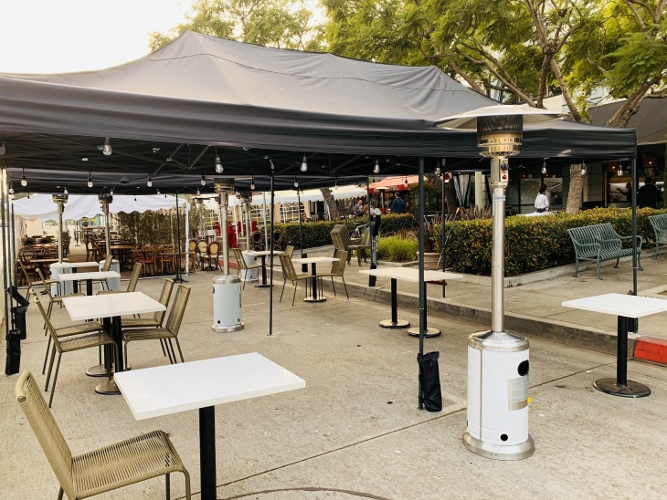 Cities Might Ditch LA County's Health Department Over The Outdoor Dining Ban