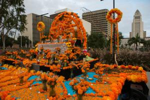 LA's Latinos Mark El Día De Los Muertos In 'A Nightmare Year' Of Loss