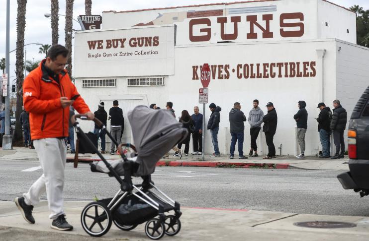 Image result for panic buying guns