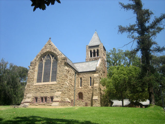 View of the Church from Ave 64