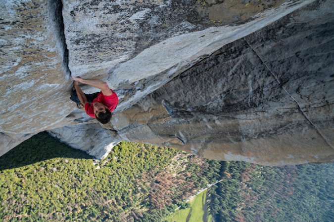 Documentary 'Free Solo' Makes You Feel Like You're Climbing A Mountain -- Without Ropes