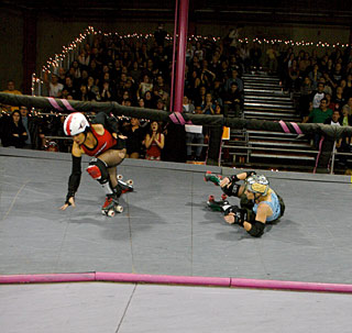fighty almighy for the fight crew, and venus d'maulr on her ass derby dolls la