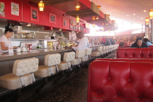 LA's Vintage Diners, Then And Now