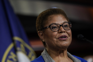 LA Congresswoman Karen Bass Says Trump Should Be Kicked Out Of Office: 'The Nation Is In Danger Every Day That He Is In The White House'