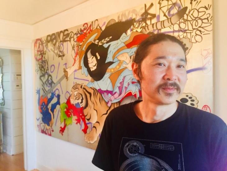 Artist Gajin Fujita