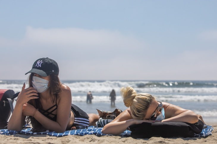 Here's What Huntington Beach Looked Like On Saturday (Hint: Not ...