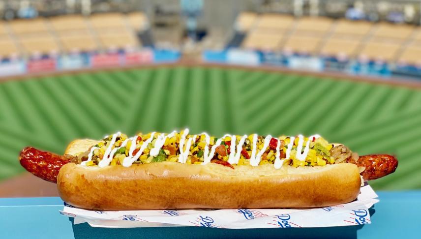 Meet The New 16-Inch, $21 Hot Dog At Dodger Stadium