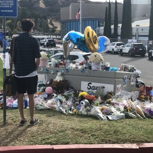 Saugus High School Students Return To Campus After Deadly Shooting