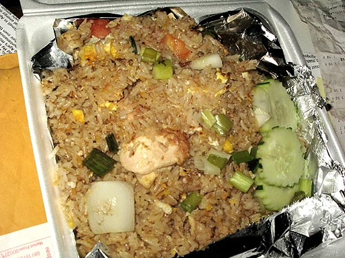 chicken fried rice didnt disappoint