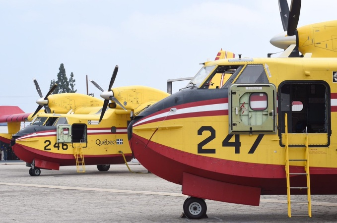 Canada's Super Scoopers Are Back In LA. But As Fire Season Gets Worse, Why Don't We Buy Our Own?