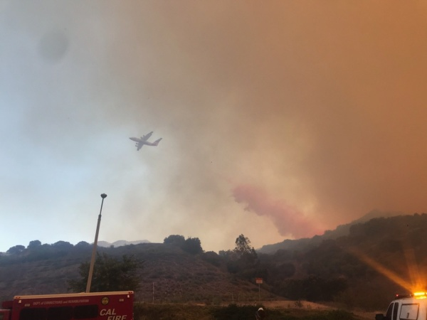 Skyline Fire Prompts Evacuations In Corona