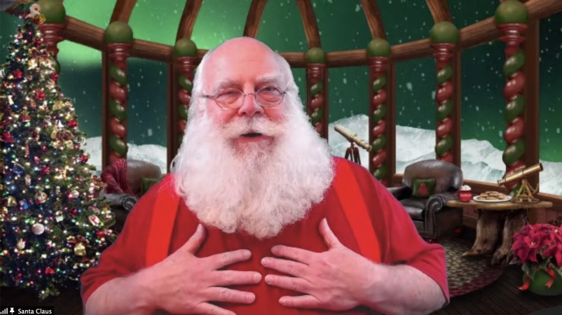 'Our Santa Jaw Dropped.' How SoCal Santas Are Going Virtual And Staying Safe For IRL Visits