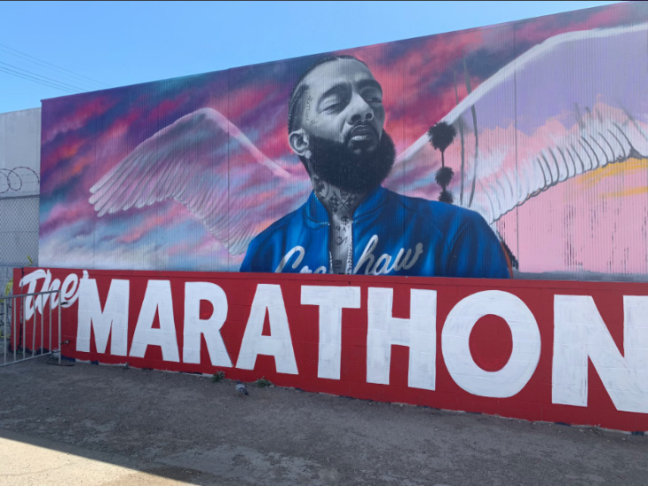 Here's What Happened Inside Nipsey Hussle's Memorial At