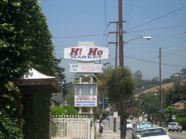 The somewhat iconic Hi Ho Market sign