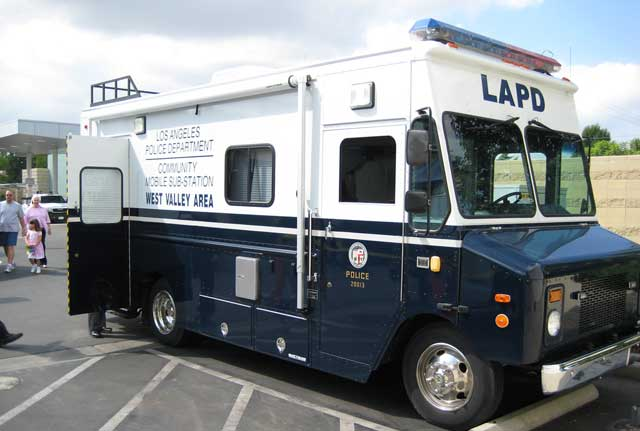 LAPD West Valley Mobile Station