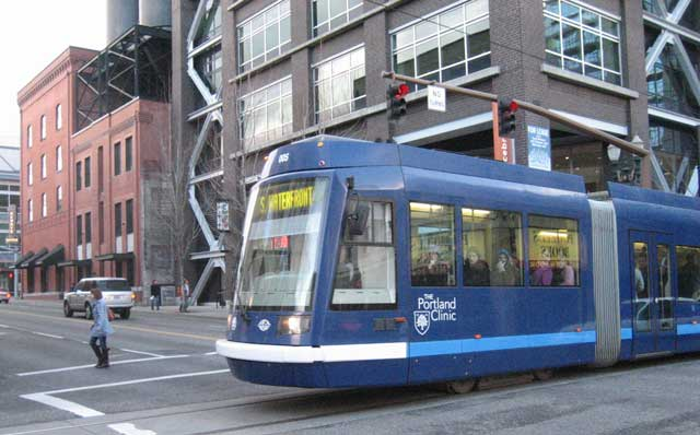 A streetcar in Portland, a vision for Los Angeles?