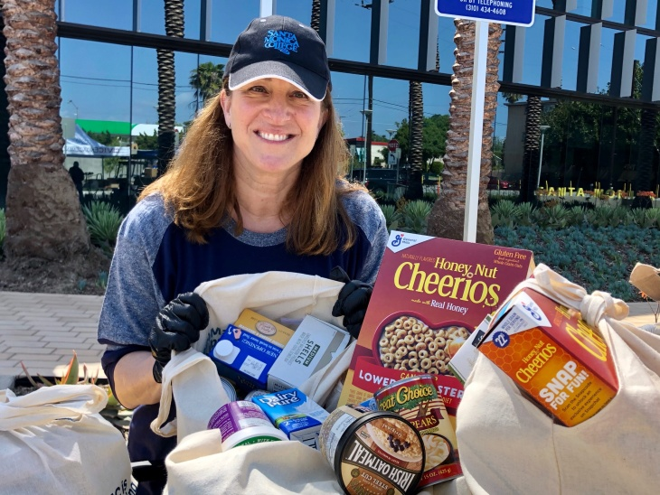 With Nothing To 'Fall Back On,' Santa Monica College Food Giveaway Helps Some Students Survive