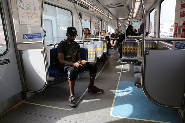 Residents living near Expo Line stations reduce car use ...