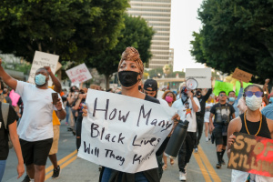 PHOTOS: LA Protestors Rally Against Death of George Floyd