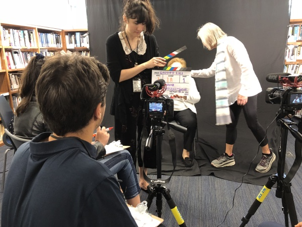 The LA Summer Interns Learning Filmmaking -- And Documenting Holocaust Survivors' Stories
