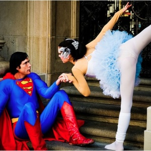 Photo Of The Day: Black Swan Saves Superman