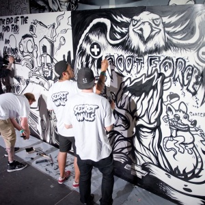 A Fight Club-Style Art Battle Has Been Unleashed On LA