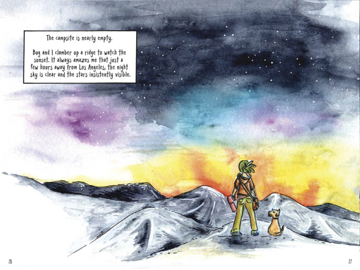 Take A Route 66 Road Trip That Starts In Santa Monica And Ends In This Graphic Novel: LAist
