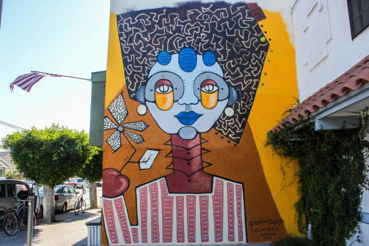 Mystical mural