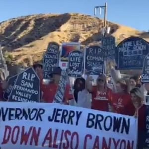 Truck Driver Detained, 18 Protesters Arrested At Aliso Canyon On Two-Year Anniversary Of Massive Gas Leak